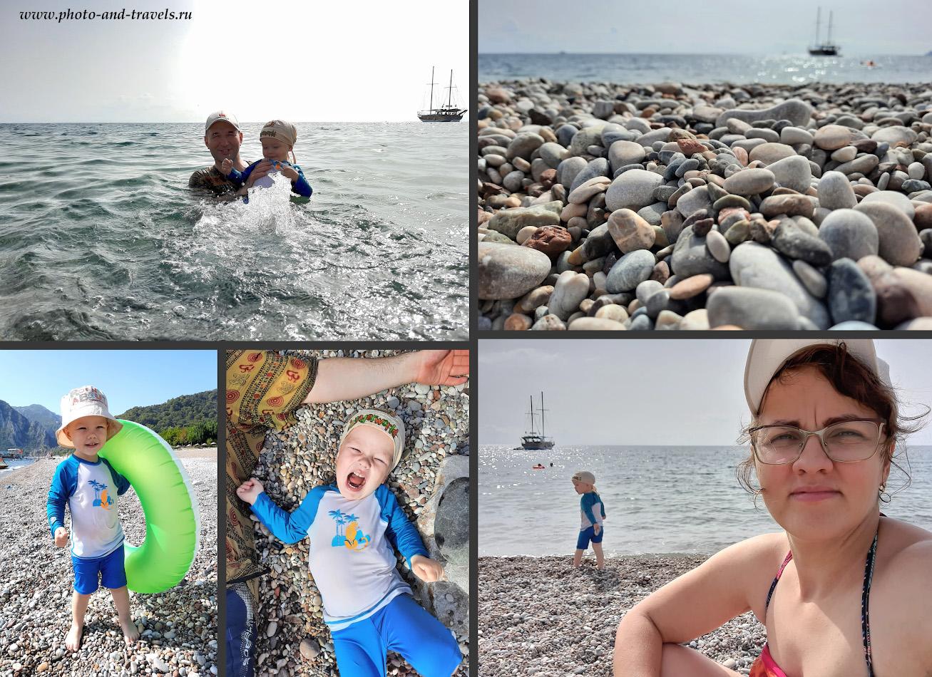 Фото 6. Пляж Чиралы – райское место, расположенное совсем недалеко от Кемера.