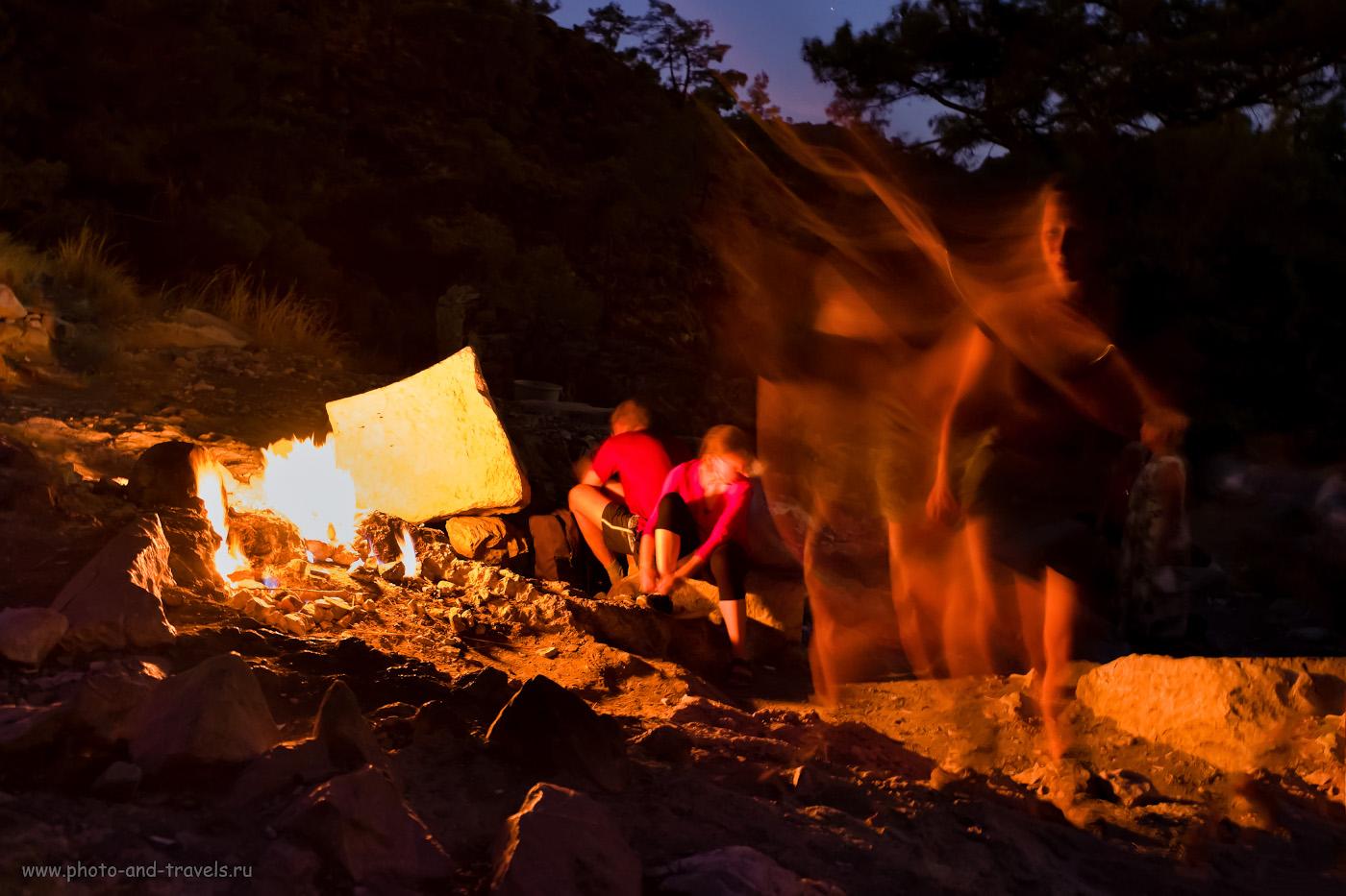6. Туристы, пламя и сама Химера. Как мы отдыхали в Чиралы и какие достопримечательности посетили самостоятельно. 2.6, 2.8, 3200, +3.0, 16