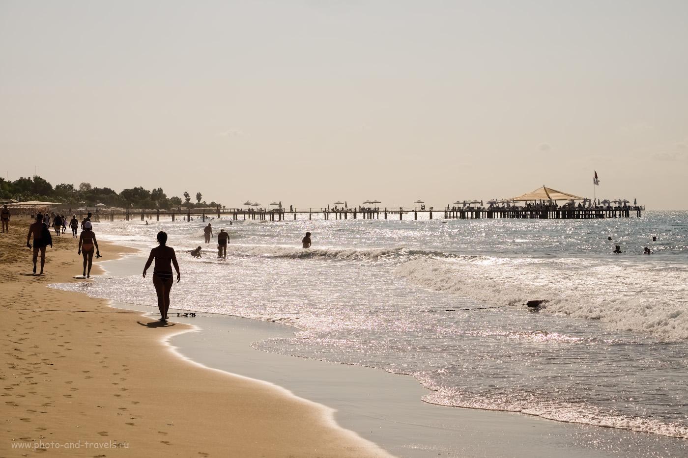 12. Отдыхающие на Восточном пляже Сиде. Отзывы самостоятельных туристов. 1/2700, 8.0, 200, -0.33, 55.