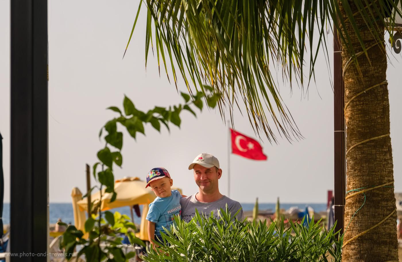 48. От отдыха в Турции мы остались в восторге. В этой стране понравится и взрослым, и детям. 1/420, 9.0, 200, 181.