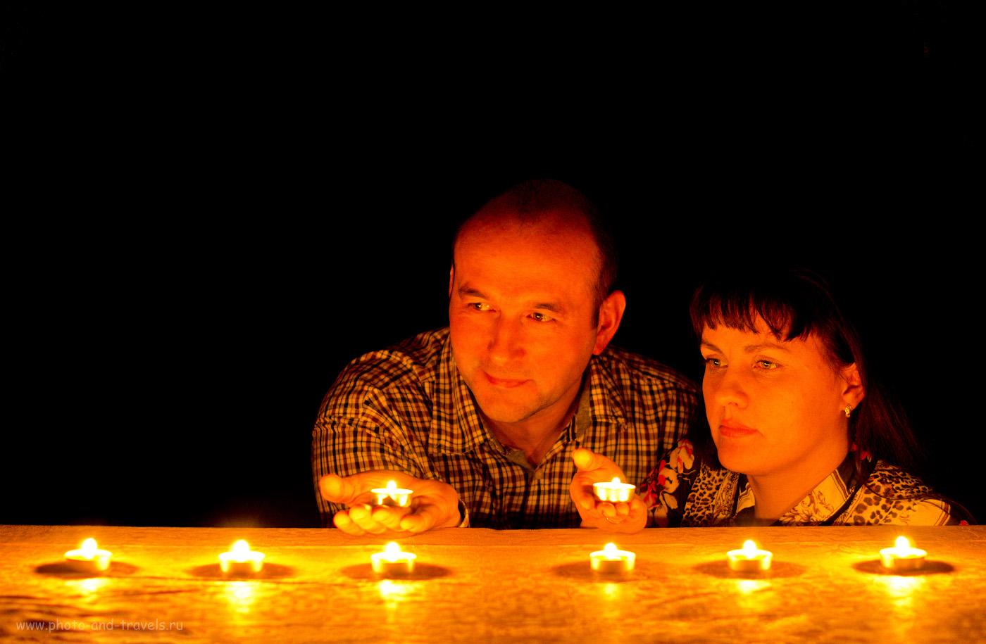 Фото 18. Пример ситуации, когда огни являются источником рисующего света. Снято на Nikon D5100 с фиксом Nikon 50mm f/1.4G со штатива Sirui T-2204X. Настройки: 1/7.7, f/2.0, 800, 50.