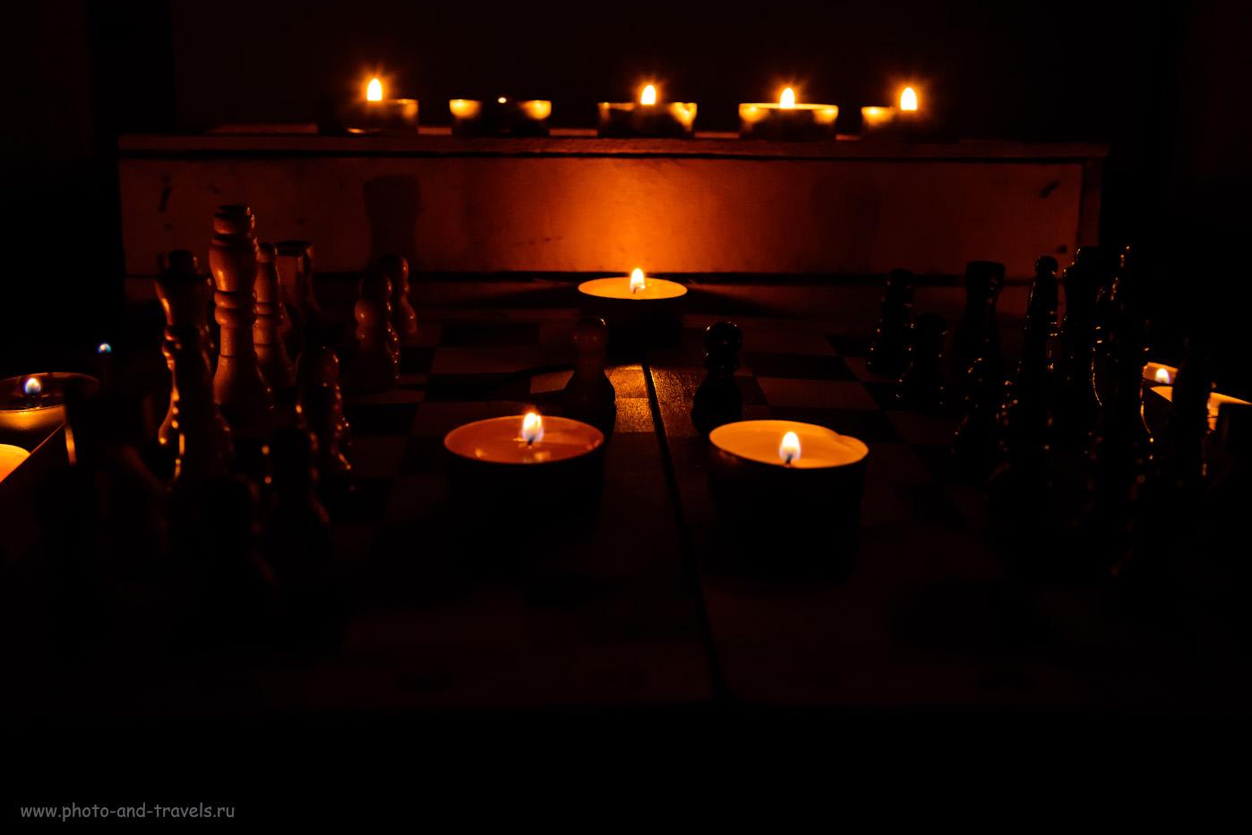 15. Имитация съемки портрета рядом с огнями горы Янарташ. Снято на Nikon D610 + Nikon 24-70mm f/2.8G. Настройки: 1/30, 8.0, 3200, 40.