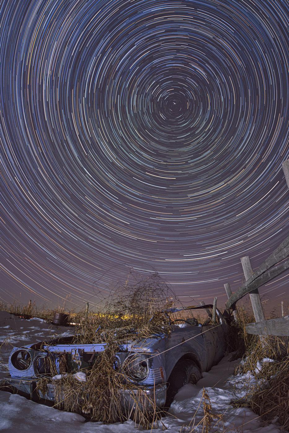 Как фотографировать звёзды на Сони А7 Марк 4.