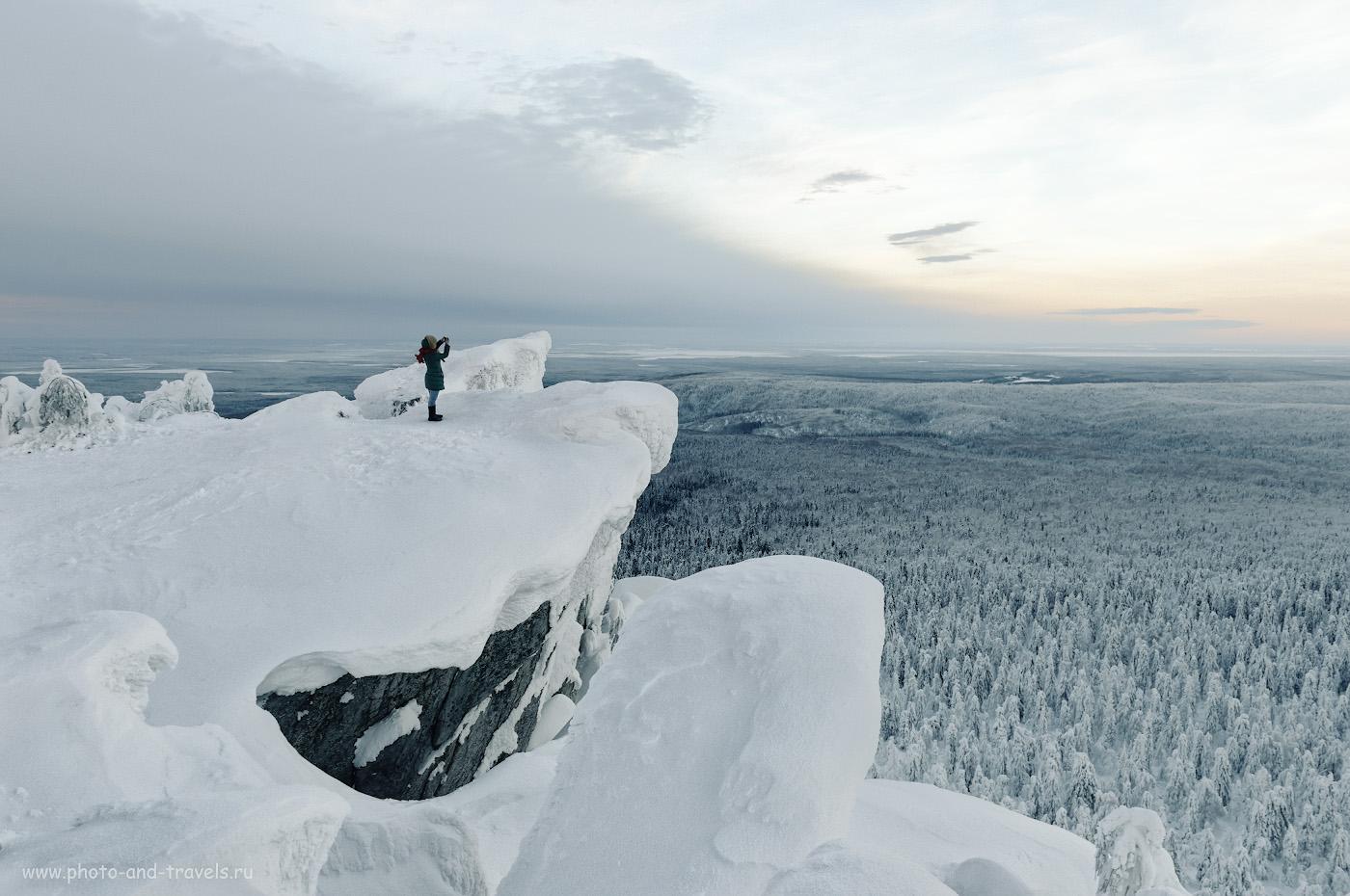 29. Утро на горе Полюд на севере Пермского края. Интересные места для автомобильного путешествия. 1/50, 8.0, 160, 24.