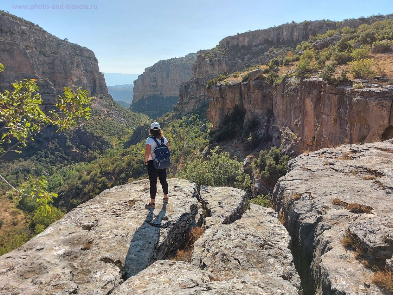 Фотография 4. Нет, не ради этого вида мы добирались в село Чёмелек (Çömelek). Здесь каньон Сасон хоть и радует своим видом, но «жемчужину» свою скрывает.