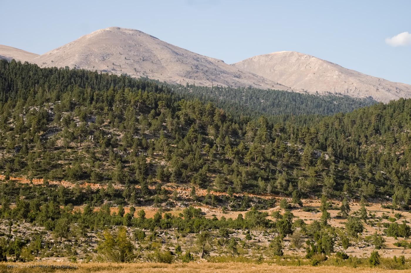 Фото 5. В эту гору вы упретесь, если поедете на вершину Баштепе по навигатору «Google.Карты». Отзыв о поездке по интересным местам в провинции Мерсин в Турции. 1/140, 9.0, 200, 55.