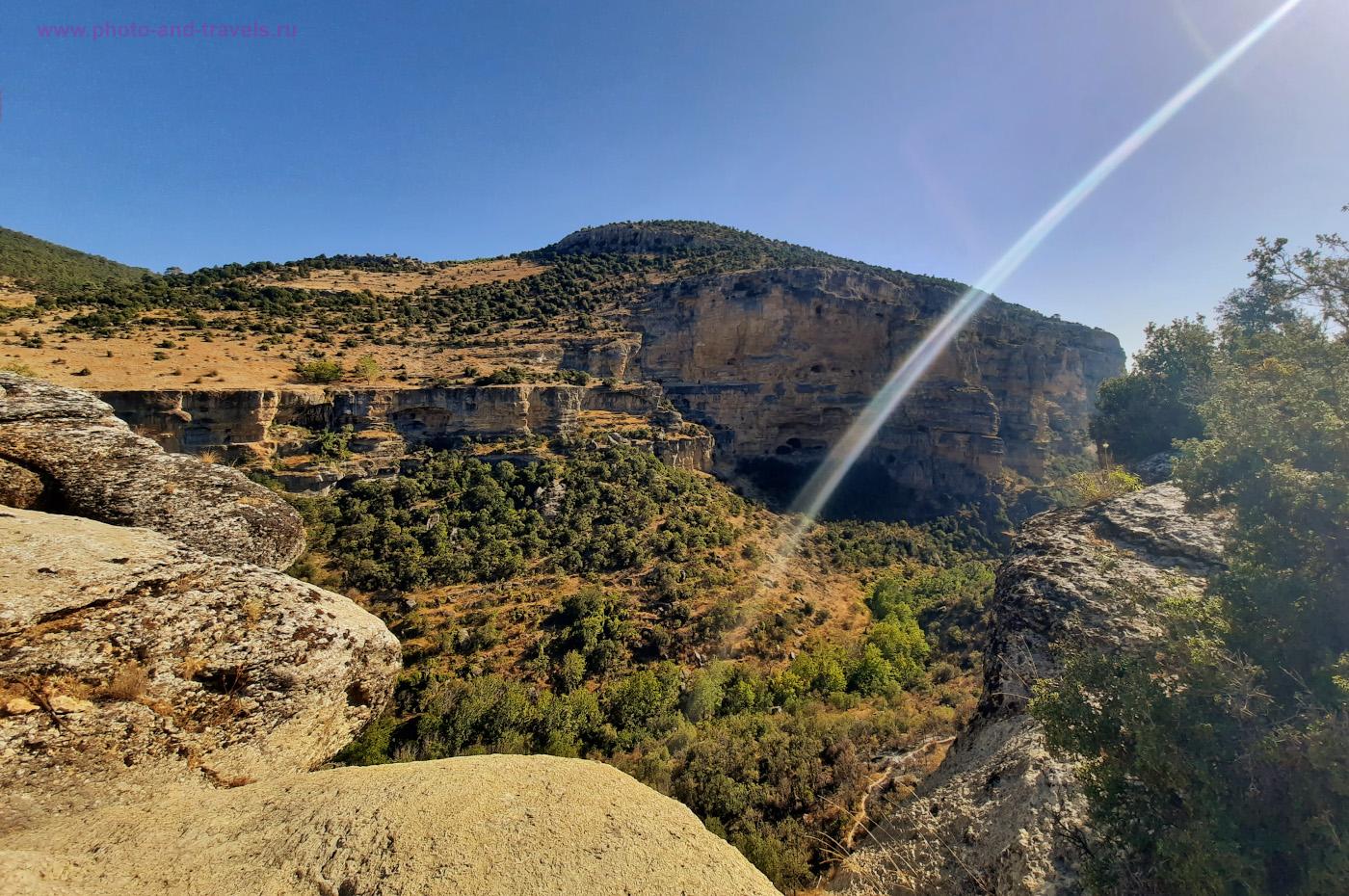 Фотография 3. Вид на каньон Сасон из «неправильной точки». Разыскиваем интересные места в провинции Мерсин для походов выходного дня. Отзывы о путешествии по Турции самостоятельно.