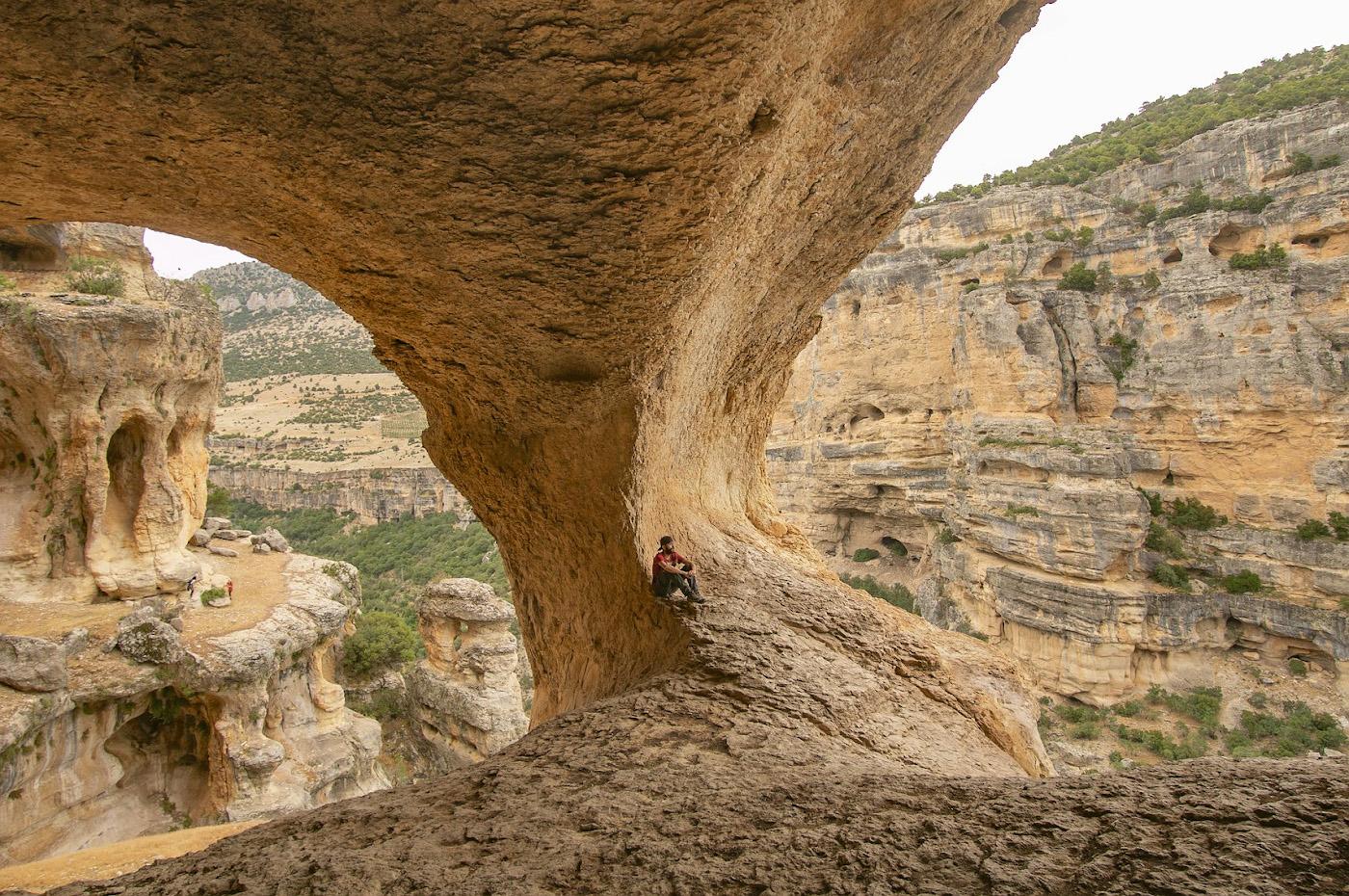 1. Самая впечатляющая смотровая площадка в каньоне Сасон (Mut Sason Kanyonu) у Арки.