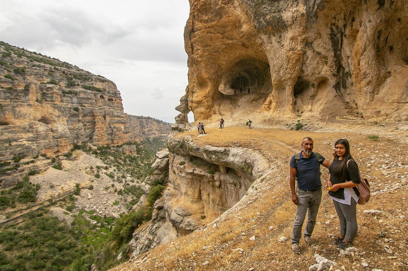 25. Портрет на Полке у Арки каньона Сасон в районе Мут провинции Мерсин. Интересные места в Турции, что можно посмотреть, взяв на прокат машину.
