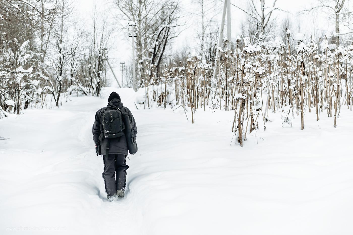 Фото 7. Исследуя ландшафт Старой Губахи в Пермском крае. 1/640, 2.8, 200, +0.67, 70.