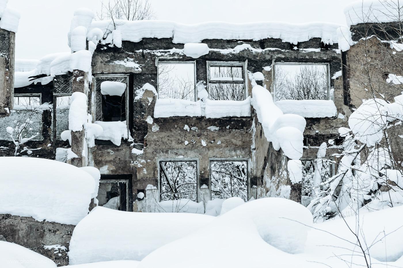 Фото 14. Здание бывшего горкома коммунистической партии в городе-призраке. 1/125, 8.0, 1400, +0.67, 32.