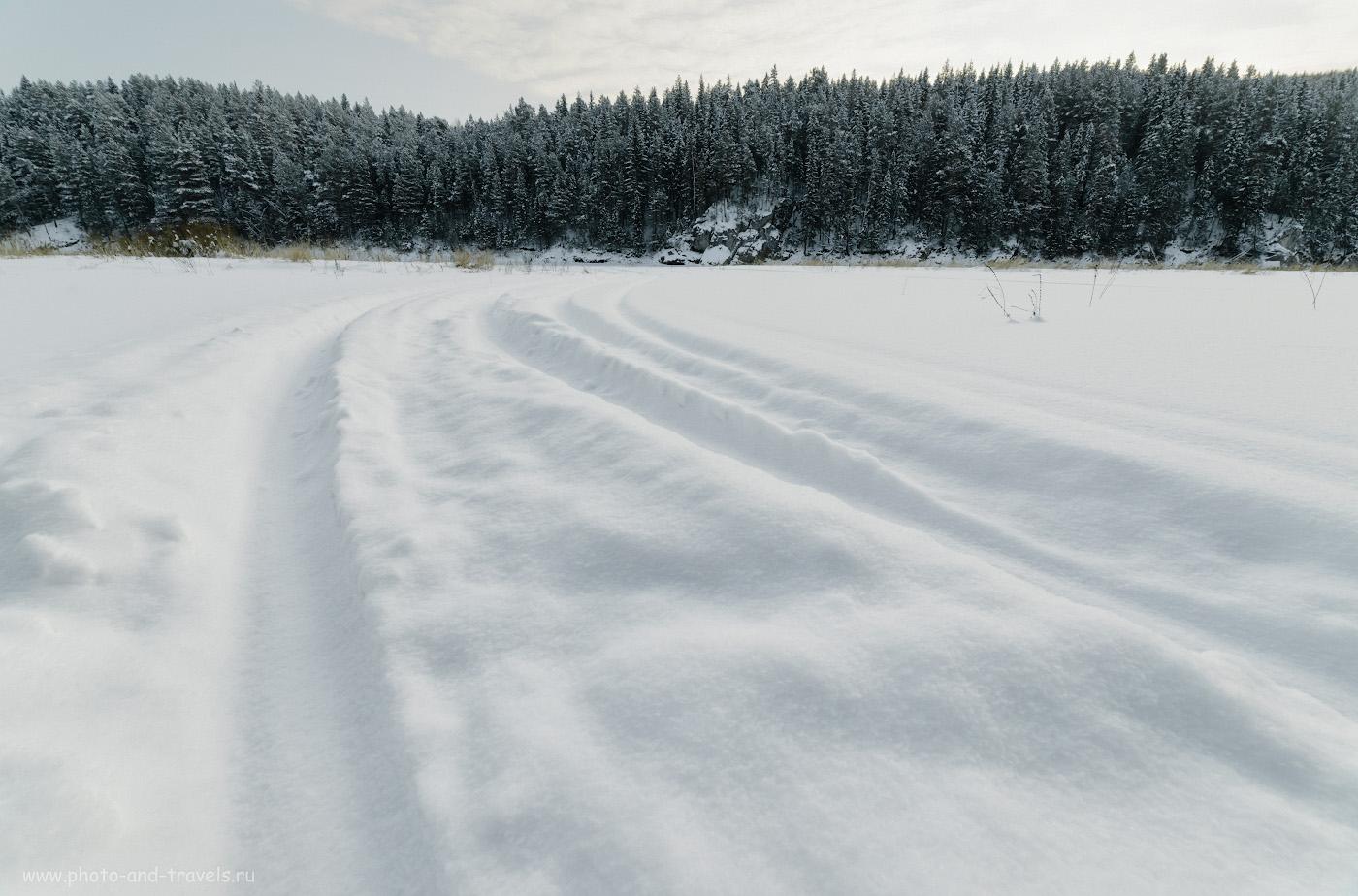 Фото 12. Вид на камень Воробей на реке Чусовая. От него до начала гряды Великана идти всего чуть более километра. Снято на Nikon D610 + Samyang 14mm f/2.8 с настройками: 1/250, 10.0, 125, +0.33, 14.