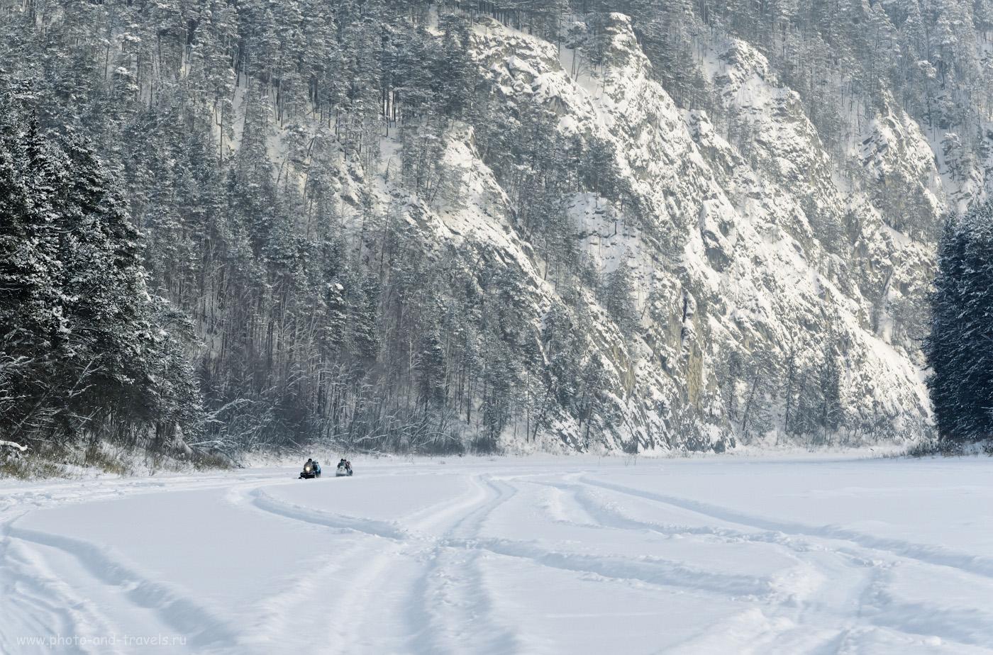 Фото 13. Камень Великан. В зимнее время к нему можно доехать на снегоходах. 1/400, 10.0, 640, +0.33, 175.