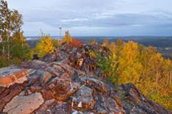 Kak podnjat'sja na goru Volchiha u Revdy. Foto Volchihinskogo vodohranilishha