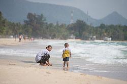 Jekskursija v derevnju rybakov v Tailande.