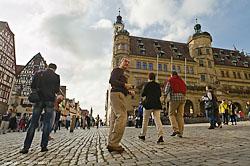 progulka po muzeju pod otkrytym nebom Rotenburg-na-Taubere