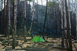 Otchet o pohode vyhodnogo dnja k skalam Chertovo gorodishhe.