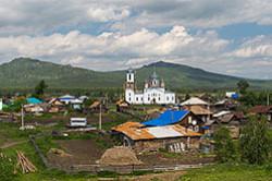 Shema raspolozhenija dostoprimechatel'nostej Juzhnogo Urala predstavlena v rasskaze o tom, gde otdohnut' v Bashkirii